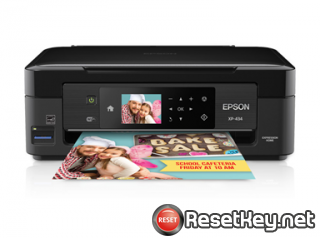 How to reset Epson XP-343 printer