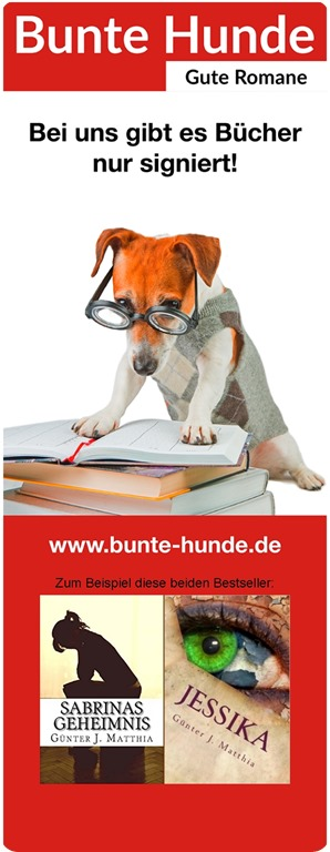 Banner der Bunten Hunde