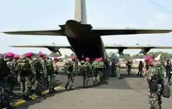 TNI Siaga Pengamanan di PT Freeport Indonesia