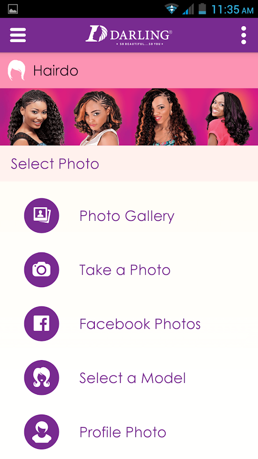 Darling Hair Booth- screenshot