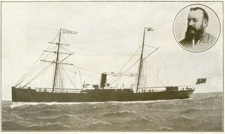 El vapor MARTOS y el capitan Cano. Suplemento Feminal de la revista La Ilustraçio Catalana. 28 de agosto de 1910.jpg