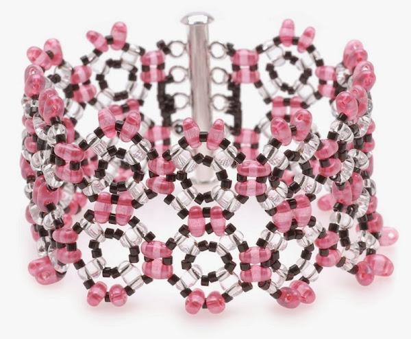 Abby Twin Bead Bracelet Tutorial by Beadaholique