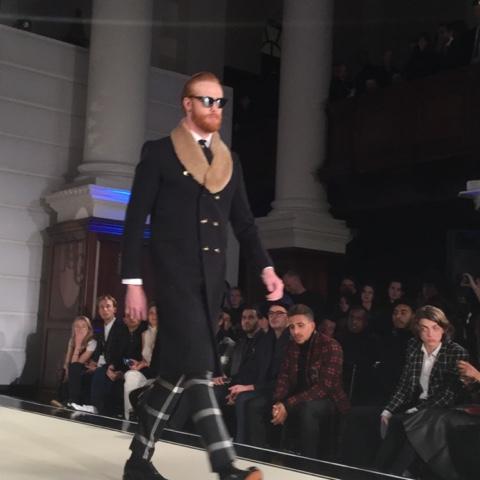 Joshua Kane London Fashion Week
