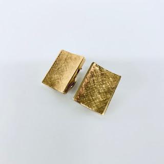 14K Gold Clip Earrings