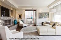 18 ý tưởng trang trí phòng khách hoàn hảo với màu kem và màu be _ Thi công trang trí nội thất