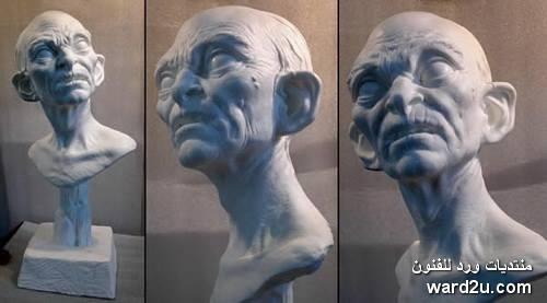 مبتكر الشخصيات الخيالية السينمائية النحات الواقعى Mark Newman