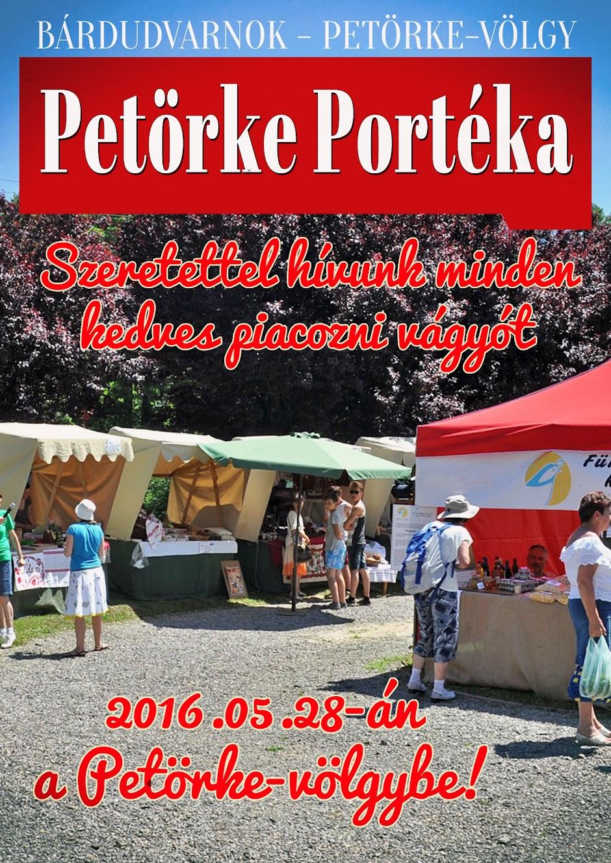 Szeretettel hívunk minden kedves piacozni vágyót 2016.05.28-án a Petörke-völgybe!