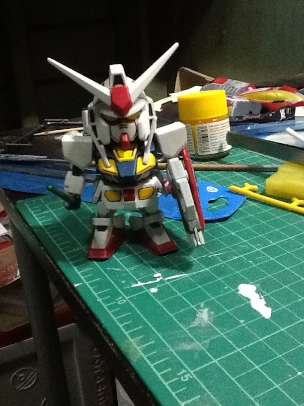 SD - O Gundam(งานพู่กัน) โดย ongpokoh