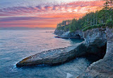 """Honorable Mention - Larry Barnes for """"Cape Flattery Predawn"""""""