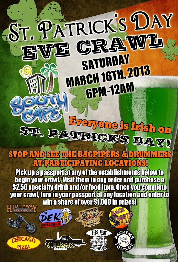South Cape St Patricks Pub Crawl