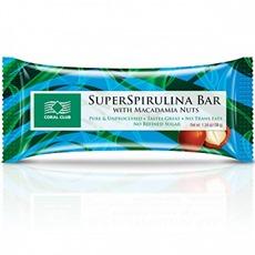 SpirulinaBarwithMacadamia / Блокче Супер Спирулина с макадамия