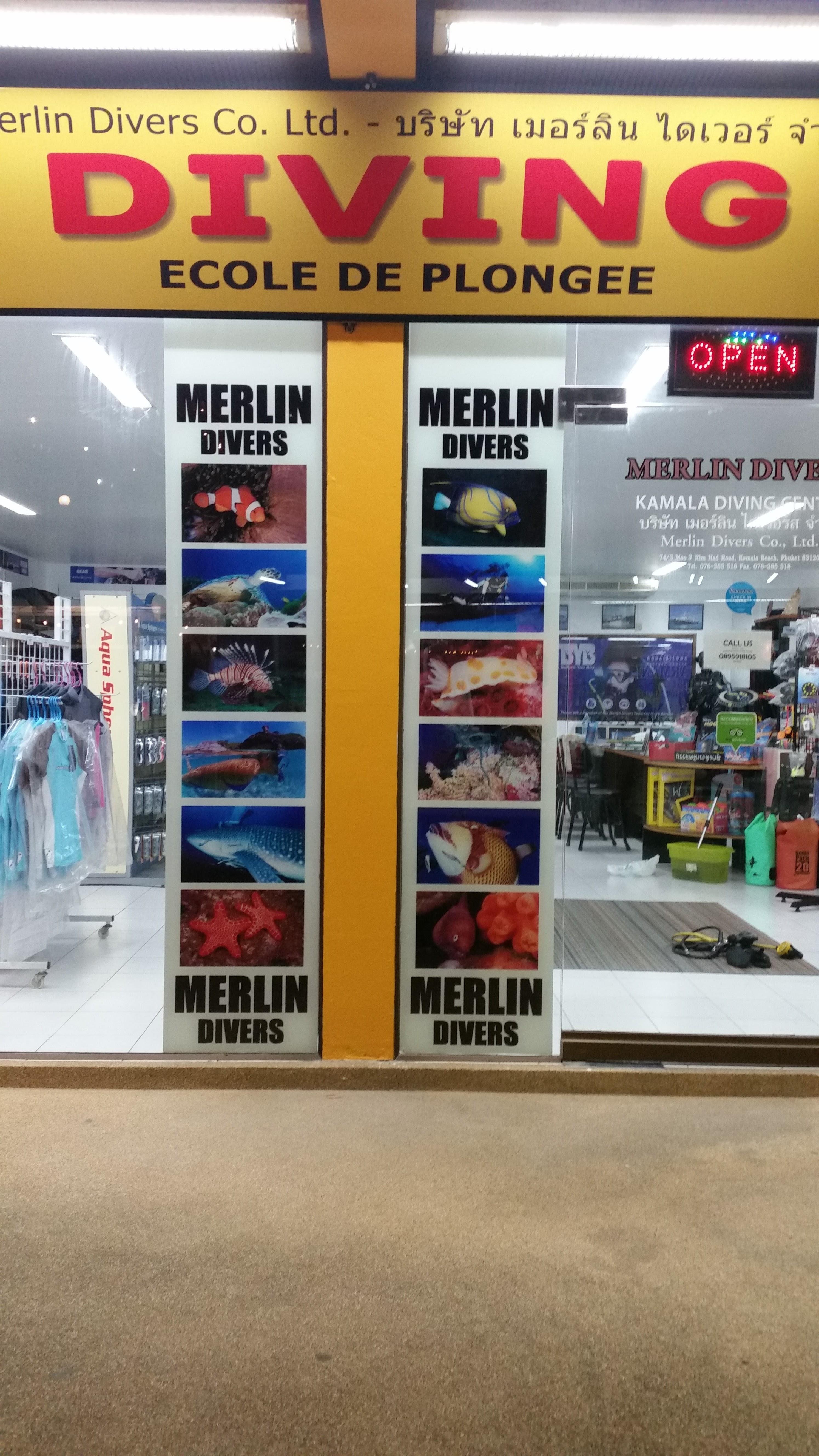 10 years +Merlin Divers Co., Ltd. | Scuba Diving Phuket - face-lift and rebor...