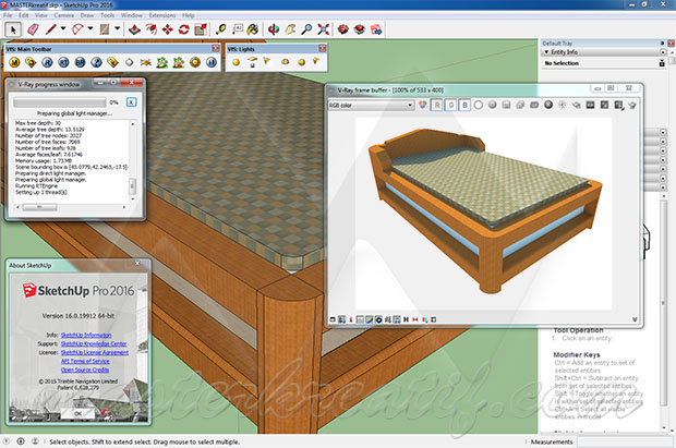 vray for sketchup 2015 with crack 32 bit