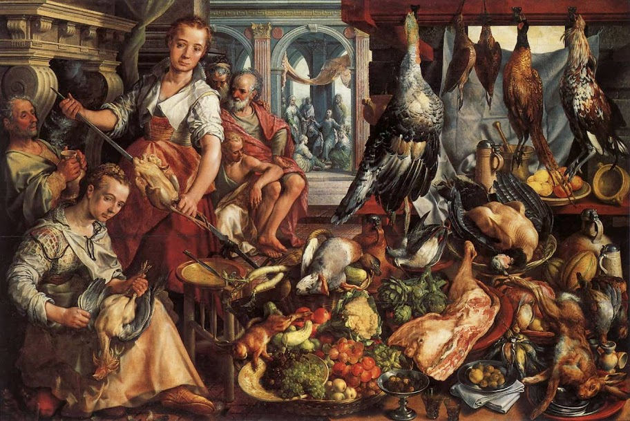 Joachim Beuckelaer - The Well-Stocked Kitchen