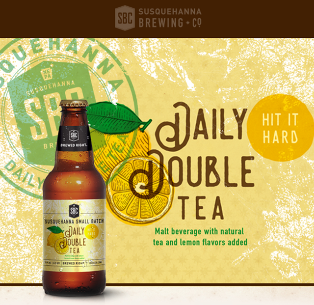 Susquehanna Brewing Releasing Daily Double Tea