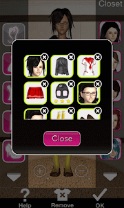 Click to Enlarge - Style Me Girl Level 47 - School Girl - Olivia - Closet