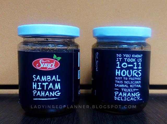 Sambal hitam Pahang viral