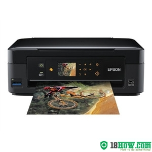 How to reset flashing lights for Epson SX438 printer