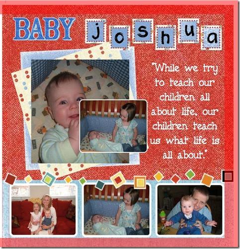 josh baby book(#404420)-FC