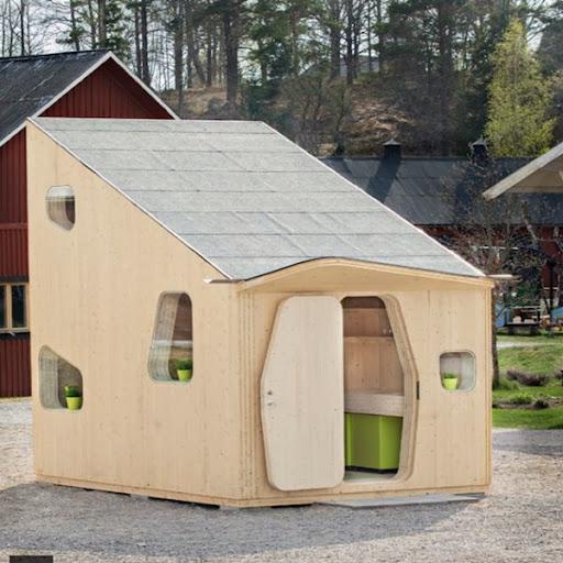 Nhà gỗ 10m² vẫn đầy đủ tiện nghi