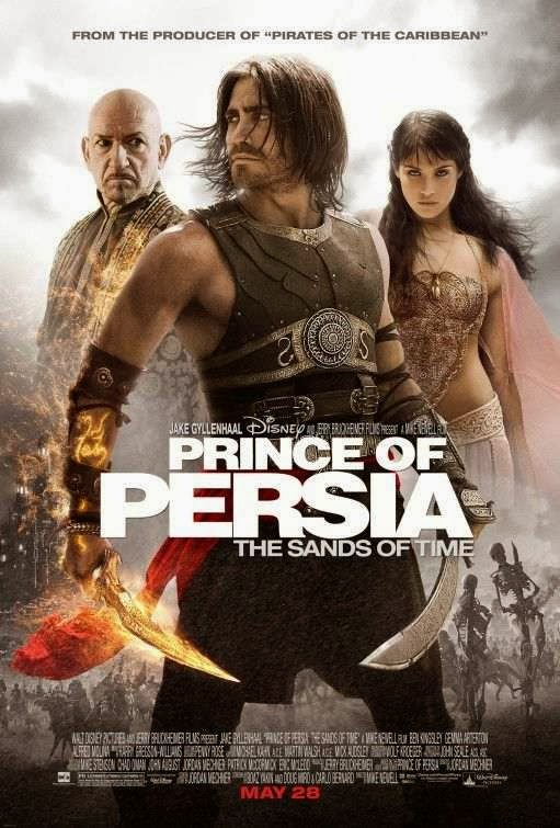 Poster Of Prince of Persia: The Sands of Time (2010) Full Movie Hindi Dubbed Free Download Watch Online At Alldownloads4u.Com