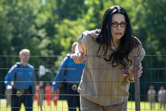 Laura Prepon stars  in OITNB season 4