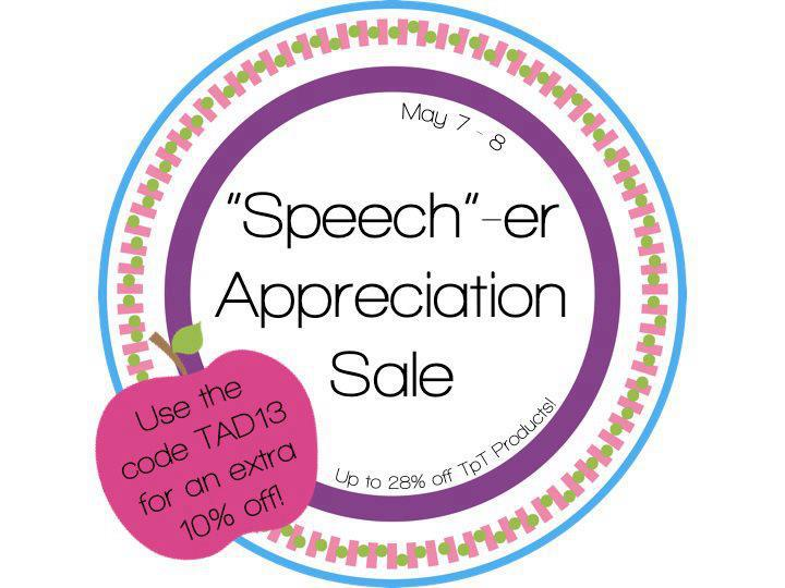 Speech-er Appreciation Sale