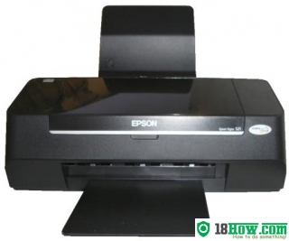 How to reset flashing lights for Epson S21 printer