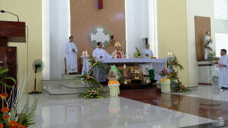 Họp mặt truyền thống Legio Mariae liên giáo hạt Cam Ranh - Cam Lâm (11 -10 – 2015)