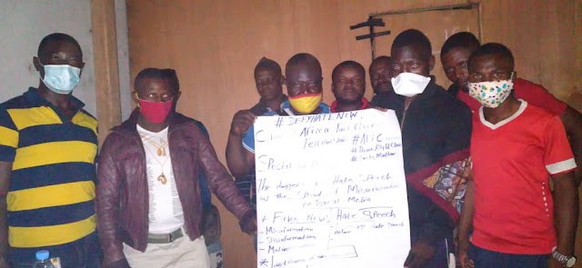 Yaoundé Bike Riders Promise To Guard against Spreading Misinformation, Hate Speech