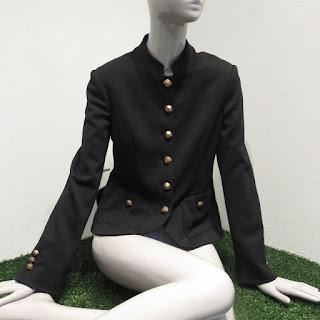 Moschino Black Wool Jacket