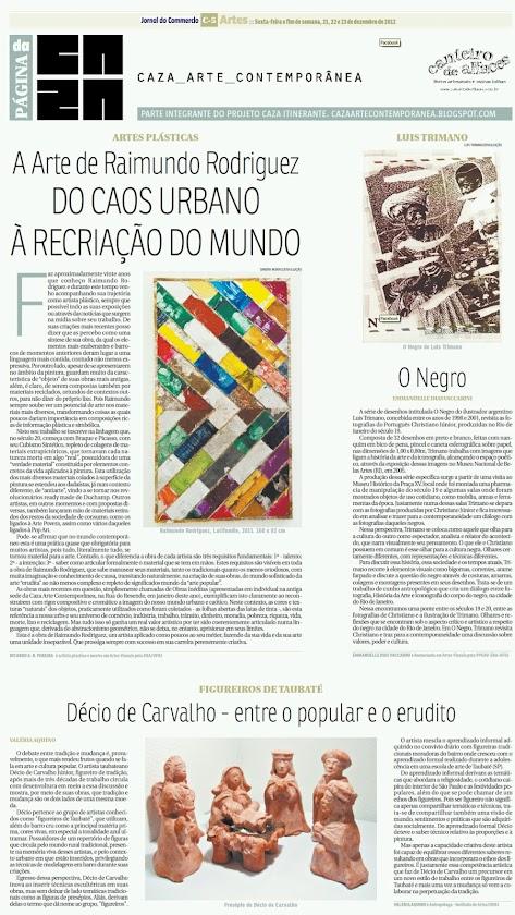 Página da Caza - 21 de Dezembro de 2012