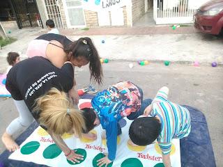 Festejos de dia del niño en Lanus