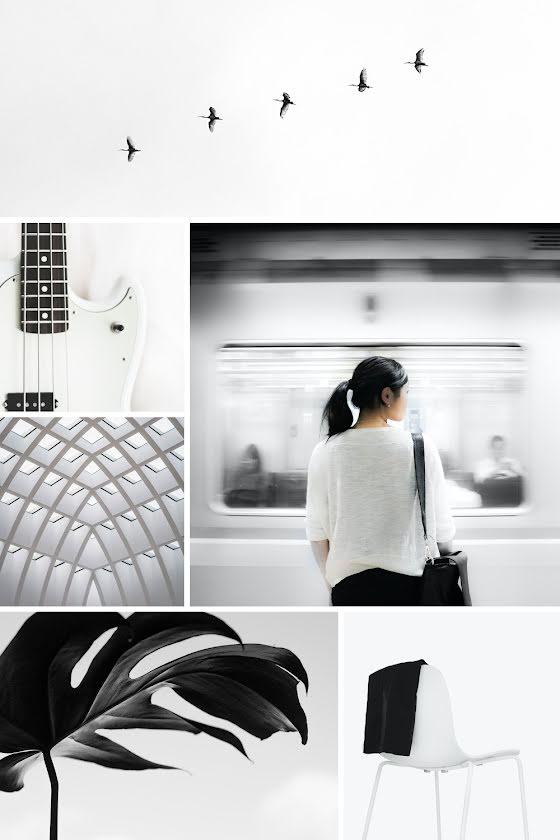 Modern Collage - Pinterest Pin Template