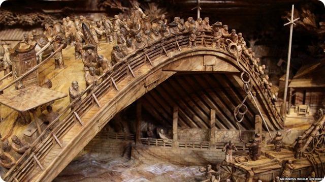 Zheng Chunhui's stunning wood sculpture-10
