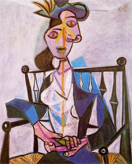 Pablo Picasso - Seated Dora Maar, 1941