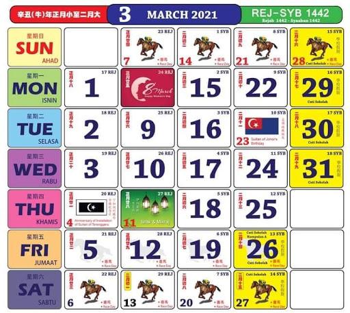Kalendar 3