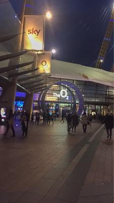 The 02 London outside