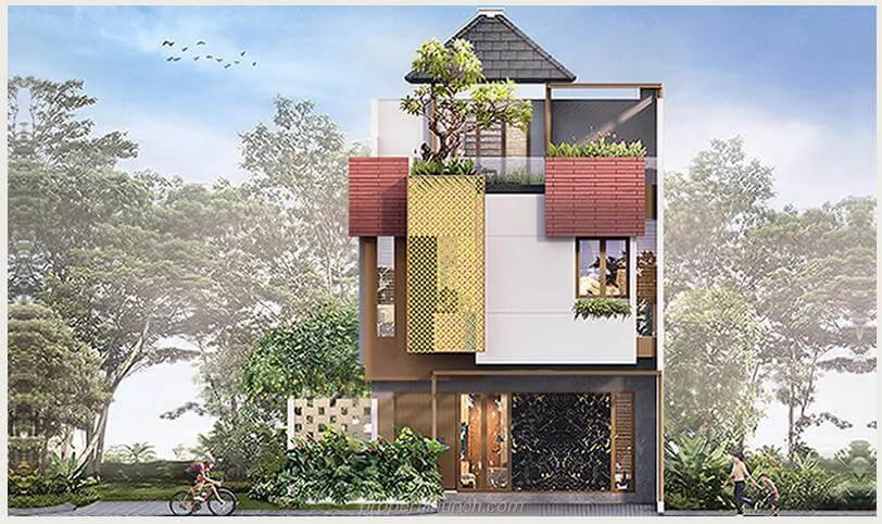 Rumah Heritage Residence Puri 11 Tipe 7 Standard