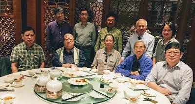2018年12月4日,當年中二善班九位同學與班主任梁崇榆老師在怡東軒午膳