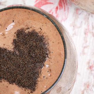Chocolate Avocado Smoothie.