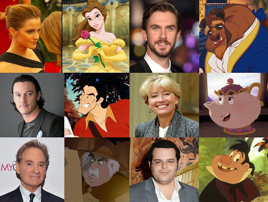 Disney Will Release Beauty And The Beast On March 17 2017 CAST