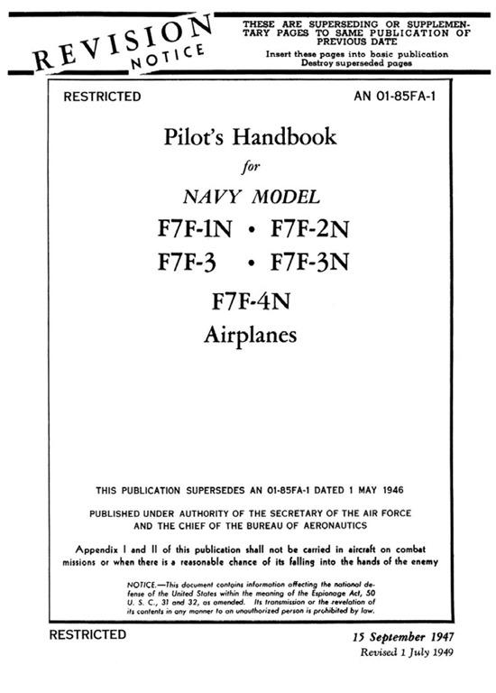 [Grumman-F7F-Tigercat-Pilots-Handbook]