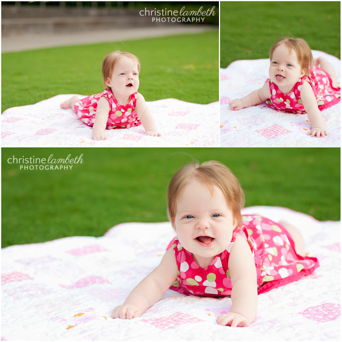 6 month old girl photos - Discovery Green