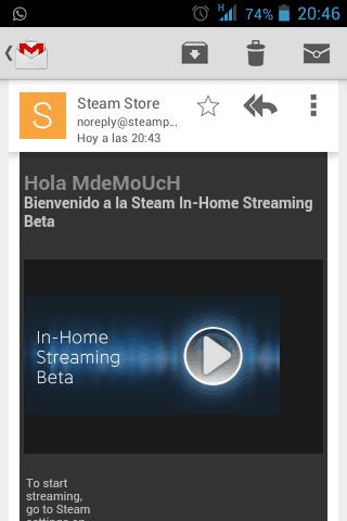 Beta de Steam In-Home Streaming ya disponible