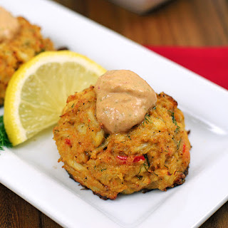 Paleo Cajun Crab Cakes with Remoulade Sauce
