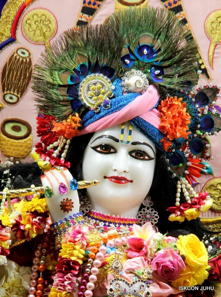 ISKCON Juhu Sringar Deity Darshan 10 Jan 2017 (40)