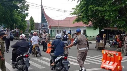 Terjaring Razia, 33 Pelanggar Prokes Dibawa ke Mapolres
