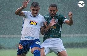 Com gol de Reis, Uberlândia Esporte empata com o Cruzeiro na estreia do Campeonato Mineiro 2021