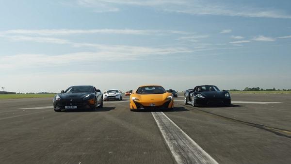 supercars drag race